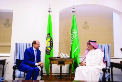 Yemen's Ambassador to Riyadh meets with Under-Secretary of Saudi